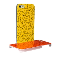 Hard iPhone 5 case of Dots & Lines Collection, lines