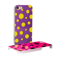 Hard iPhone 5 case of Dots & Lines collection - dots