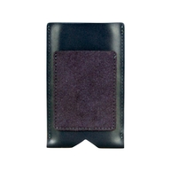 SimplyClassic cow leather pouch for iPhone 5, dark blue